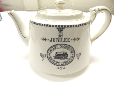 Cowlairs Co-operative teapot image