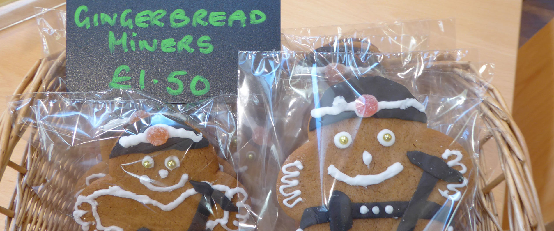 Gingerbread Miners
