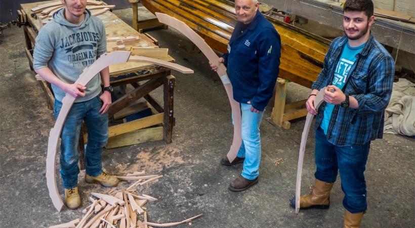 Museums Change Lives: the Scottish Boatbuilding School image