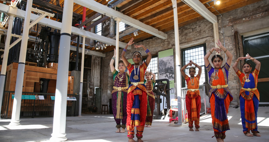 Verdant Drama, Dancing and Music in the Mill