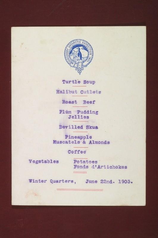 Discovery menu 1903