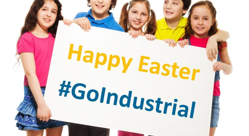 #GoIndustrial this Easter image