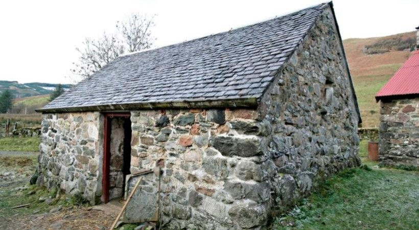 The Slate House at Auchindrain: a Forgotten Story image