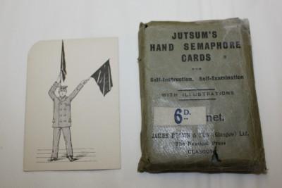 Jutsum's Hand Semaphore Cards image