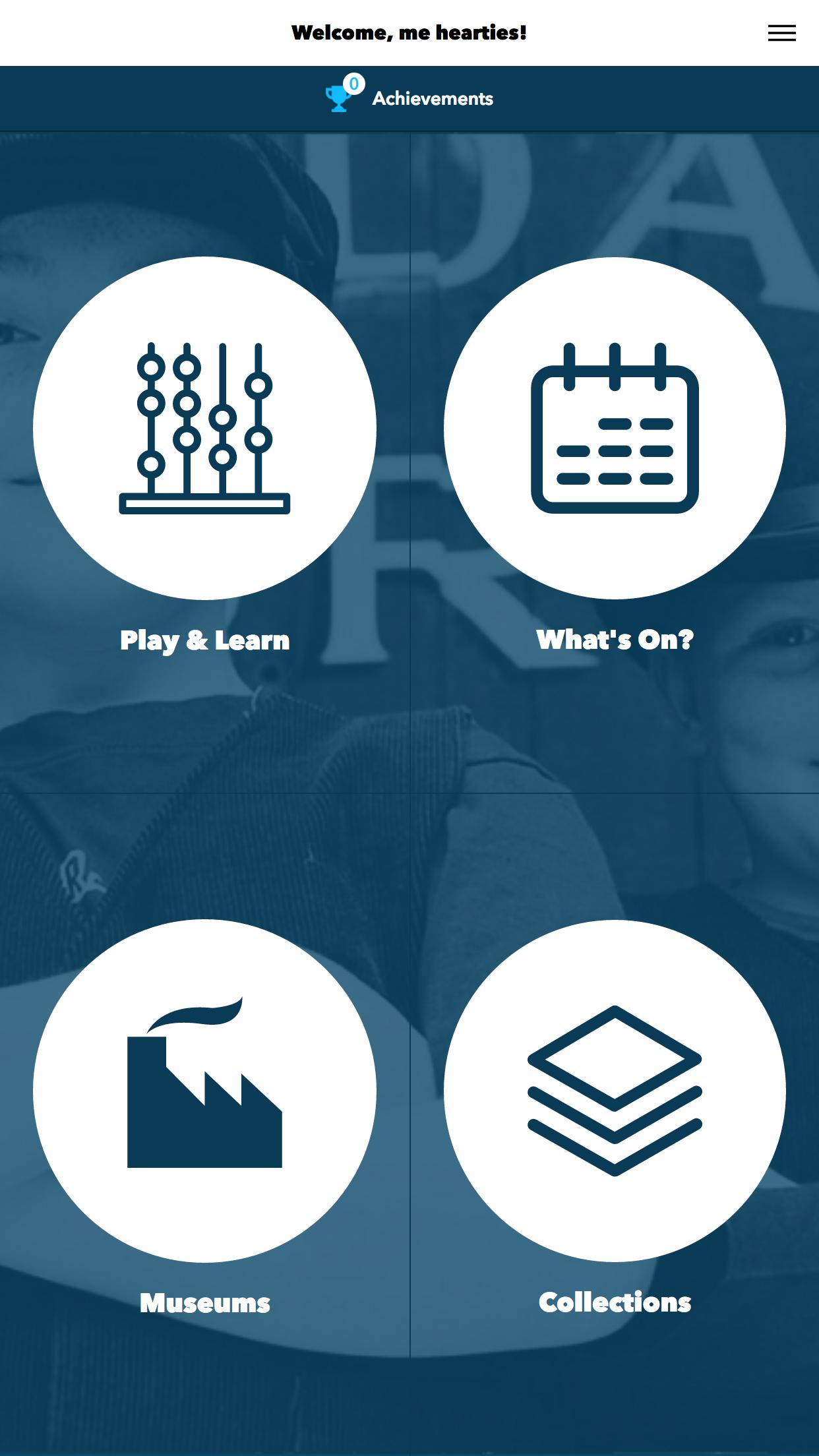 Go Industrial App: Main Screen