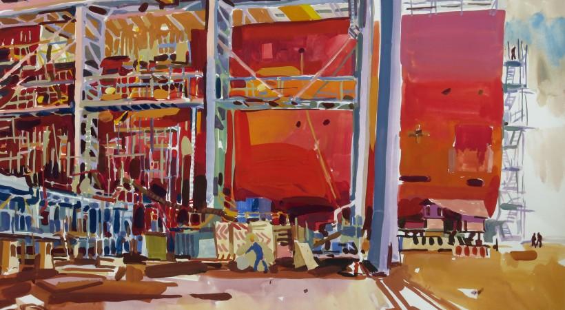 Shipyard by Lachlan Goudie image