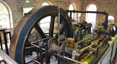New Lanark's Engine House and Steam Engines image