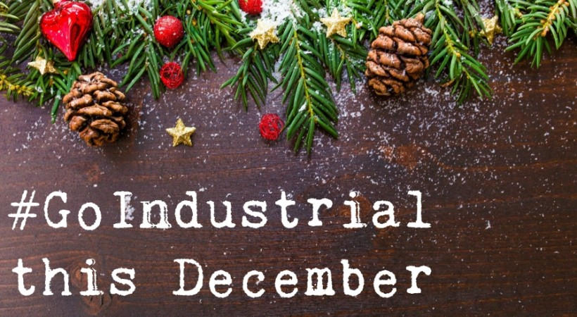 Season's Greetings from #GoIndustrial image