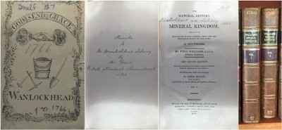The natural history of the mineral kingdom by John Williams image