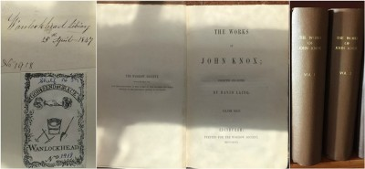 The works of John Knox image