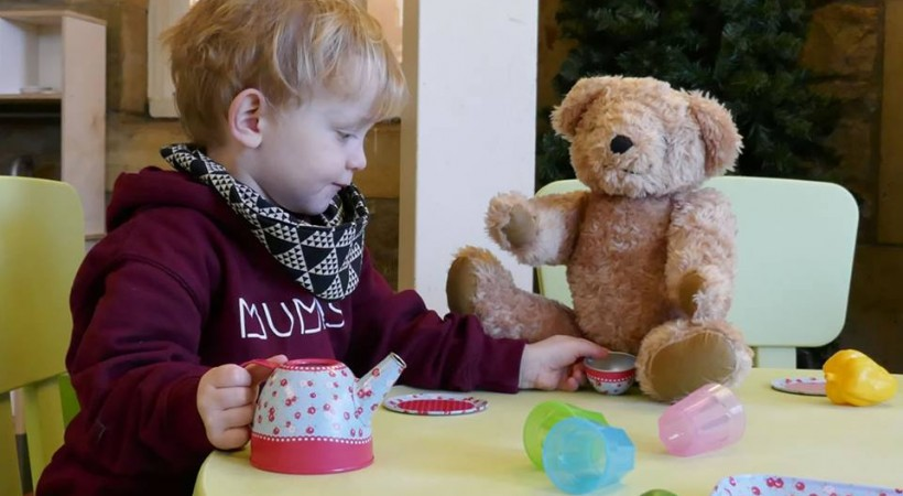 Afternoon Tea at Almond Valley and Teddy Bears Woodland play area image