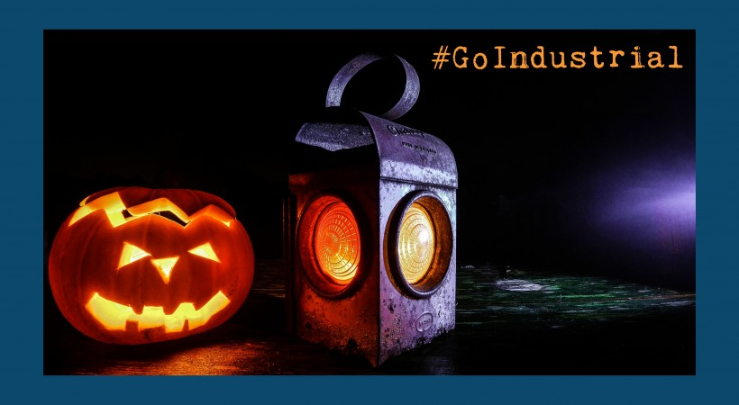 #GoIndustrial gets spooky this Halloween! image