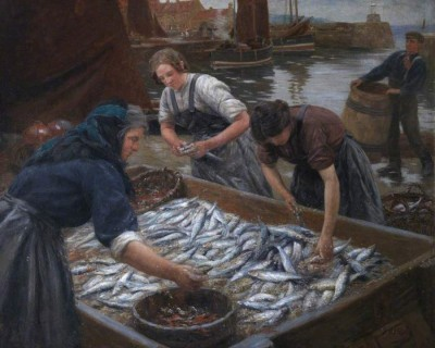 Gutting Herring image