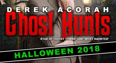 Halloween Ghost Hunt with Derek Acorah image