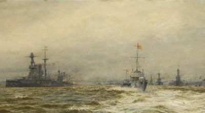 Building the Grand Fleet - A talk by Ian Johnston image