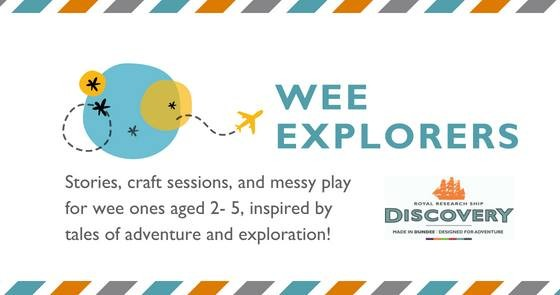 wee explorers graphic