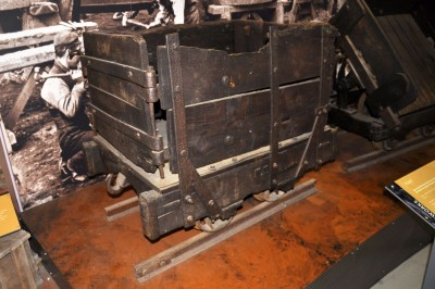 Fireclay mine hutch or bogie image