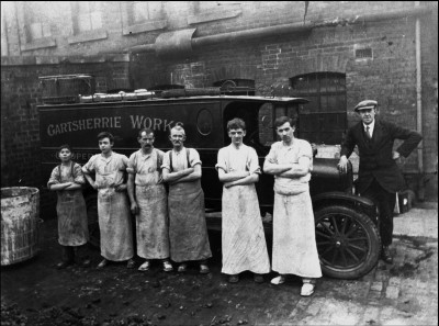 Gartsherrie Works Co-op workers image