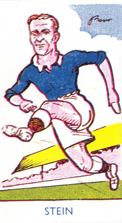 Jock Stein cigarette card image