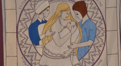New Great Tapestry of Scotland panel unveiled for the first time at exhibition in New Lanark image