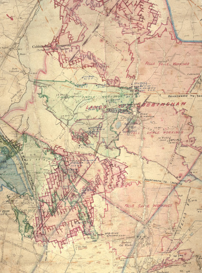Map of Linlithgowshire/Edinburghshire image