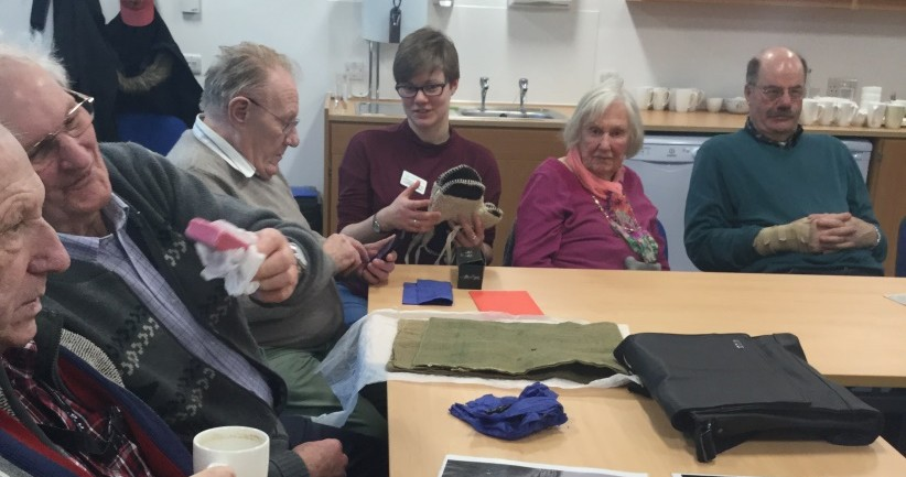 reminiscence event with Scottish fisheries museum