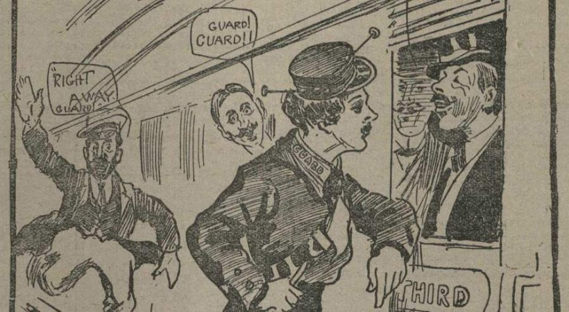 Women's Wartime Contributions on Scotland's Railways image
