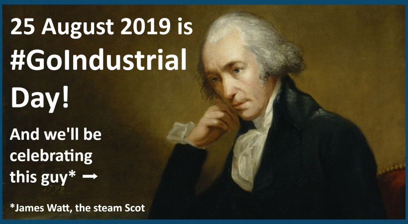 Go Industrial Day 2019 @ Summerlee image