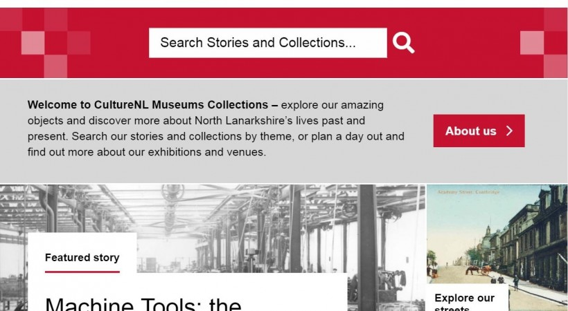 Get set to explore the collections at North Lanarkshire's museum image