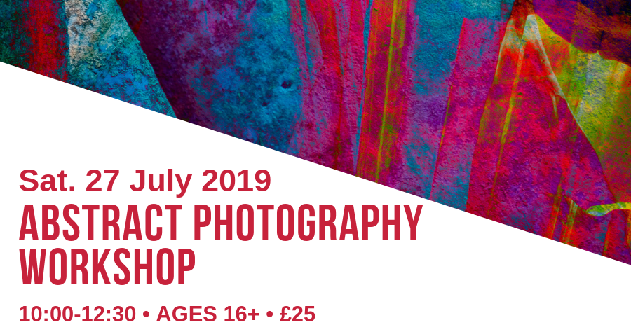 abstract photography workshop banner image