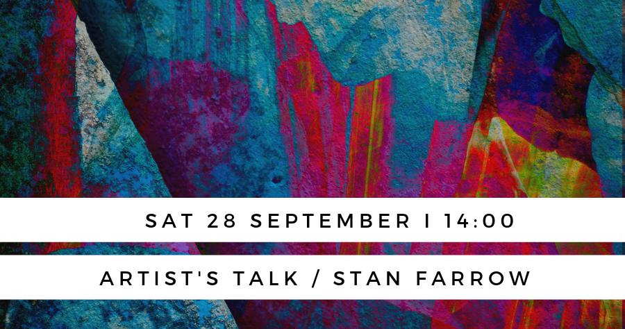 stan farrow artists talk banner image