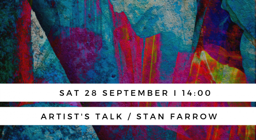 Artist's Talk I Stan Farrow image