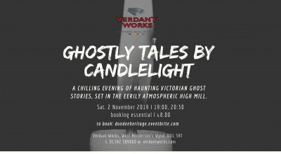 Ghostly Tales by Candlelight image