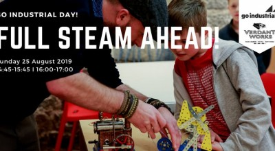 Go Industrial Day! - Full Steam Ahead workshops image