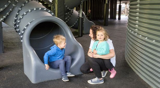 Almond Valley's Paraffin Works play area is OPEN! image