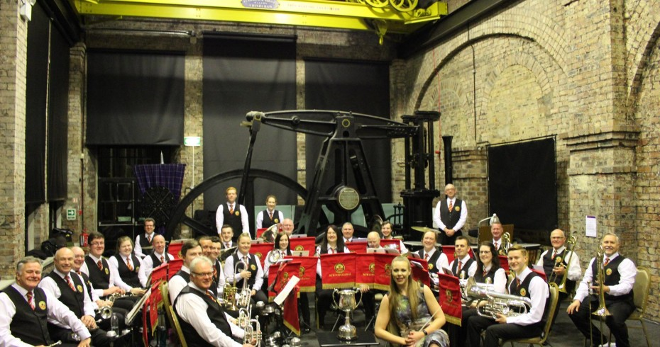 newtongrange silver band in power house