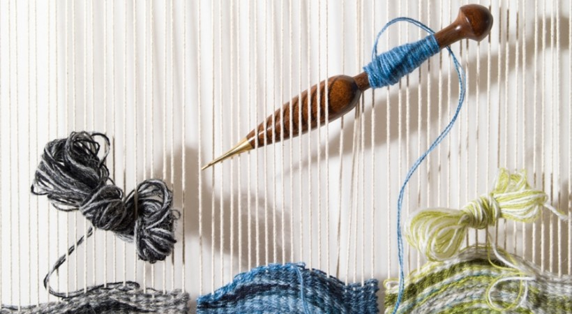 Woven Waves: The Jutland Tapestries by Katie Russell image