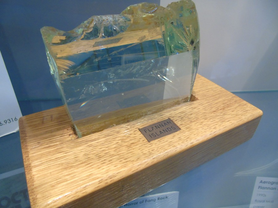 Part of a prism from Flannan Isle
