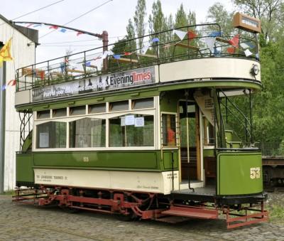 Lanarkshire Tramways Car No.53 image