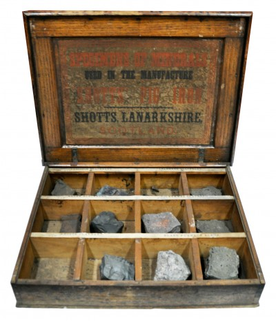 Box of Raw Materials for Pig Iron image