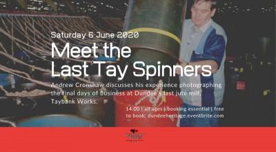 Talk: Meet the Last Tay Spinners image