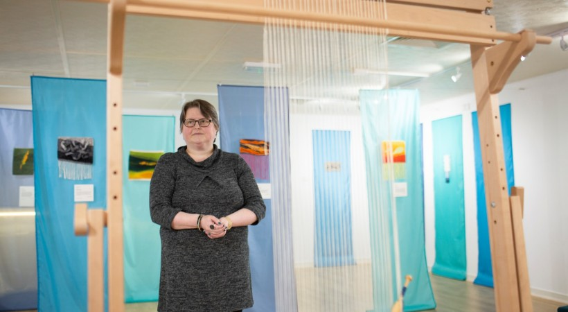 Woven Waves: Katie Russell Tapestry Weaving Workshop image