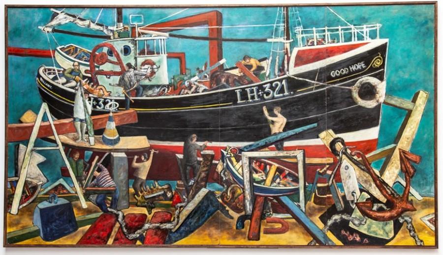 the boat builders by john bellany