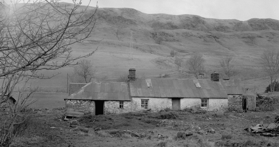view of highland house to accompany auchindrain blog
