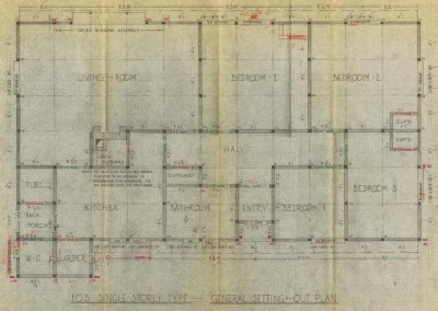 Original floor plan of, Auchindrain's Colt House image