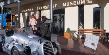 Grampian Transport Museum location image