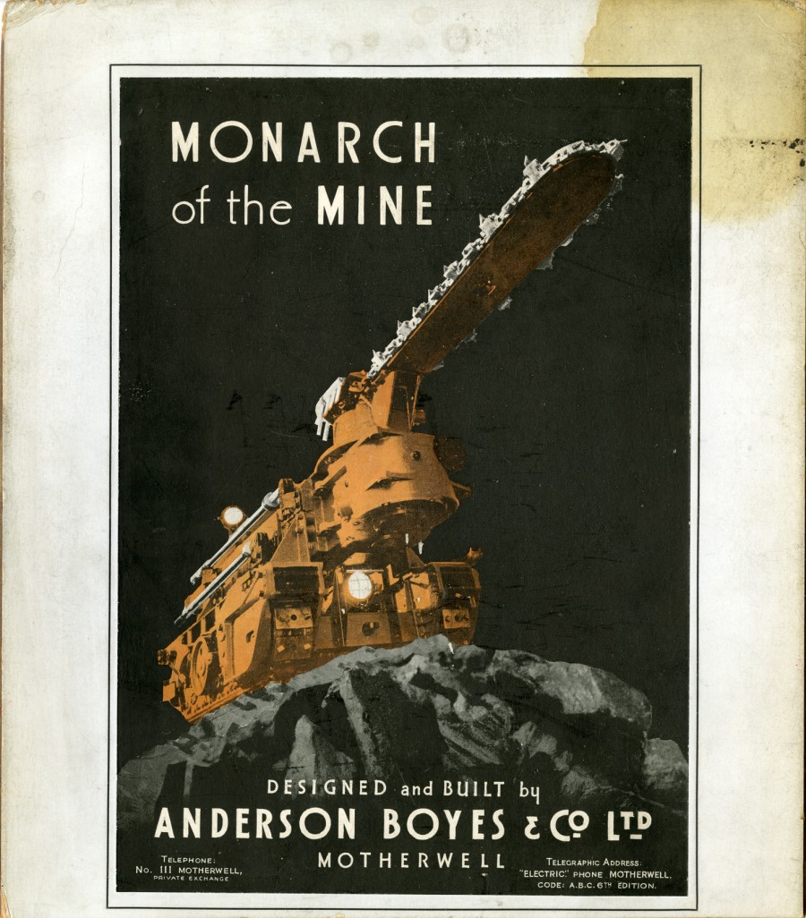 monarch of the mine advert