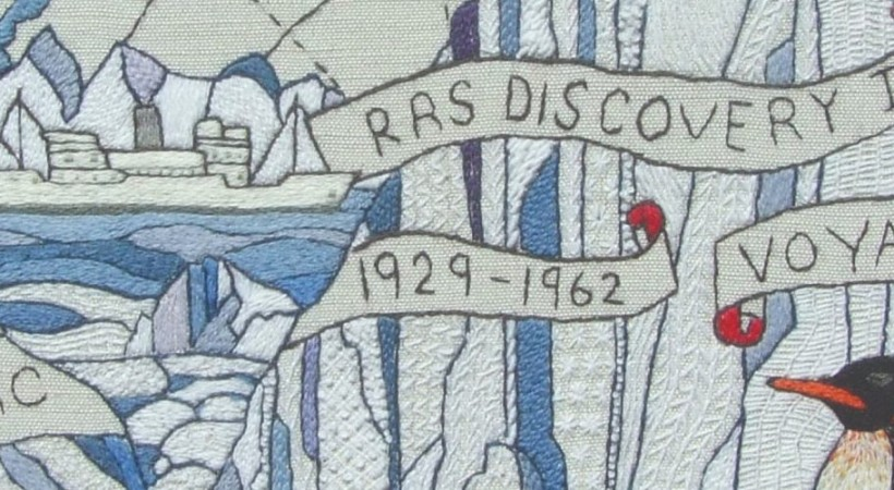 The Scottish Diaspora Tapestry image