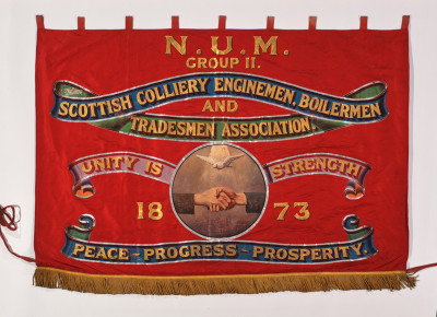 Scottish Colliery Engineman, Boilermen and Tradesmen Association Banner image