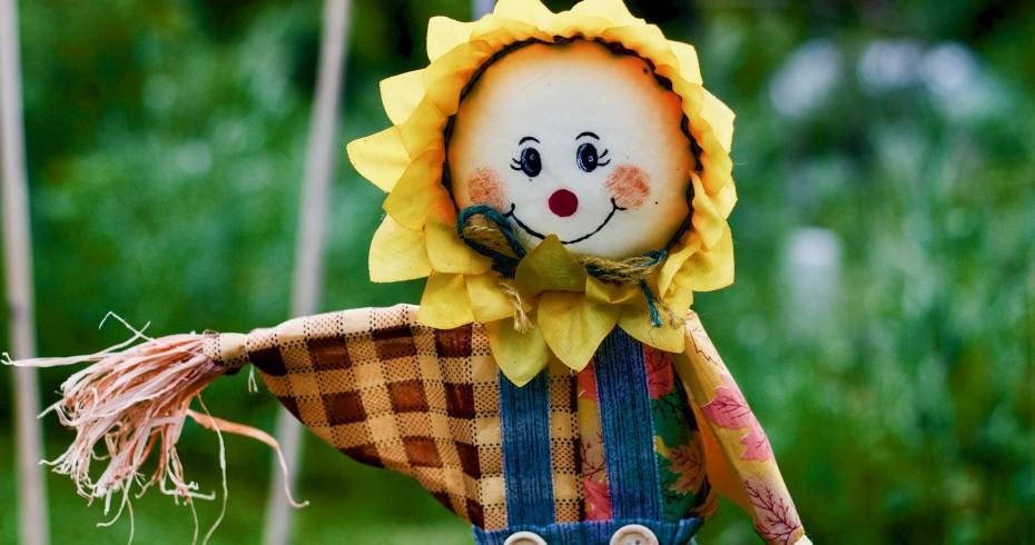 scarecrow happy smile